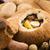 traditional white borscht zurek with sausageegg and mushrooms stock photo © joannawnuk