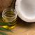 ココナッツ · 油 · 代替案 · 療法 · 自然 · 緑 - ストックフォト © joannawnuk