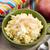 portion of sweet millet porridge with apple and cinnamon stock photo © joannawnuk