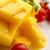 polenta taragna with sauce and tomatoes stock photo © joannawnuk