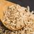 cuchara · marrón · arroz · fondo · chino - foto stock © joannawnuk