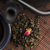 black cast iron teapot and cup with rose stock photo © joannawnuk