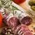 spaans · houten · papier · voedsel · gesneden · worst - stockfoto © joannawnuk