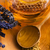 Lavender honey with bee pollen and honey comb stock photo © joannawnuk