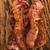 pişmiş · domuz · pastırması · şeritler · beyaz · yakın · çekim - stok fotoğraf © joannawnuk