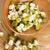 fasulye · gıda · yeşil · bambu · kaşık · sağlıklı - stok fotoğraf © joannawnuk