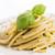 espaguete · macarrão · pesto · molho · queijo · parmesão · fresco - foto stock © joannawnuk