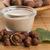 hazelnoot · melk · gezondheid · tabel · ontbijt · witte - stockfoto © joannawnuk