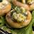 heerlijk · gevuld · champignons · kaas · pesto · lunch - stockfoto © joannawnuk