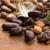 cacao · bonen · natuurlijke · houten · tafel · chocolade · keuken - stockfoto © joannawnuk