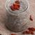 シード · プリン · 健康 · スタジオ · デザート · マクロ - ストックフォト © joannawnuk