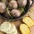 gebakken · kruiden · boter · voedsel · hout - stockfoto © joannawnuk