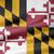 USA · Maryland · zászló · fehér · 3d · illusztráció · textúra - stock fotó © joggi2002
