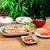 snow fish steak eatable japanese food set stock photo © johnkasawa