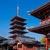 храма · Токио · Япония · небе · здании · город - Сток-фото © johnkasawa