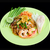 stir fried noodle with shrimp and vegetable named pad thai the w stock photo © johnkasawa
