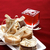 biscuits ties with ribbon decorates with jelly red and backgroun stock photo © johnkasawa