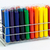 colorful glass tube in slots reasy for color testing stock photo © johnkasawa
