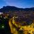 éjszaka · kilátás · Monaco · hegy · víz · nyár - stock fotó © johny007pan