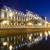 Bucarest · noche · justicia · palacio · Rumania - foto stock © johny007pan