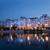edificios · agua · Bucarest · puesta · de · sol · luz - foto stock © johny007pan