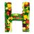 saudável · alfabeto · carta · legumes · frescos · frutas · isolado - foto stock © Johny87