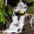 pormenor · pequeno · cachoeira · paisagem · beleza · verde - foto stock © johny87