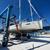 Sailboat in dry dock stock photo © Johny87
