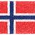 bandera · Noruega · dibujado · a · mano · ilustración · fondo · signo - foto stock © jomaplaon
