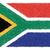 bandiera · Sudafrica · illustrazione · verde · nero - foto d'archivio © jomaplaon