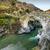 River passing through Genoese bridge at Asco in Corsica stock photo © Joningall