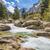 водопад · гор · Корсика · снега · долины · дерево - Сток-фото © joningall