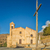 church and cross at costa in corsica stock photo © joningall
