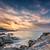 világítótorony · naplemente · Franciaország · természet · tájkép · háttér - stock fotó © joningall