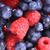 Heidelbeeren · ad · Himbeeren · nice · Obst · Gesundheit - stock foto © jonnysek