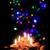 christmas candles in the dark night stock photo © jonnysek