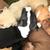 americano · toro · terrier · negro · naturaleza · perro - foto stock © jonnysek
