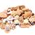 cookies · geïsoleerd · witte · midden - stockfoto © jonnysek