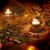 燃焼 · キャンドル · クリスマスツリー · ぼけ味 · クリスマス · 装飾 - ストックフォト © jonnysek