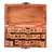 ábécé · fából · készült · doboz · levelek · véletlenszerű · klasszikus - stock fotó © jonnysek
