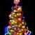 金 · 星 · 飾り · クリスマス · ライト - ストックフォト © jonnysek