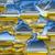 vidrio · agua · hielo · agradable · vino · resumen - foto stock © jonnysek