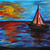 buque · vela · mar · luz · de · la · luna · cielo · naturaleza - foto stock © jonnysek