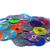Blauw · cd · witte · papier · muziek · technologie - stockfoto © jonnysek