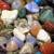 ásvány · gyűjtemény · szép · természetes · fény · üveg - stock fotó © jonnysek
