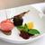 sobremesas · branco · comida · morango · fresco · doce - foto stock © jonnysek