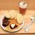 sirloin steak and vegetable sauce stock photo © jonnysek