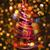 bal · vorm · kerstboom · decoratie · christmas · echt - stockfoto © jonnysek