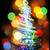 рождество · дерево · фары · черный · лес · дизайна - Сток-фото © jonnysek