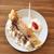 ei · cake · diner · taart · room · maaltijd - stockfoto © jonnysek